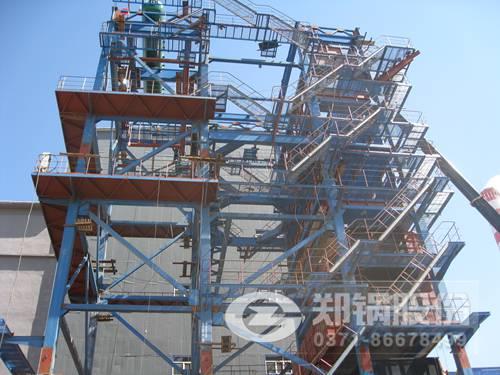 130吨、9.8mpa燃煤流化床锅炉参数、性能和价格