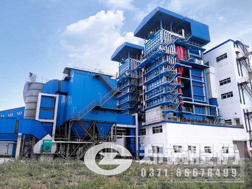 咨询75吨或者100吨烧废纸渣的蒸汽锅炉型号